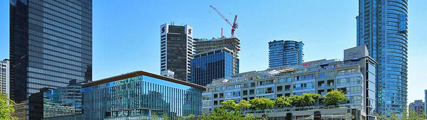Kiivasta rakentamista Downtownissa