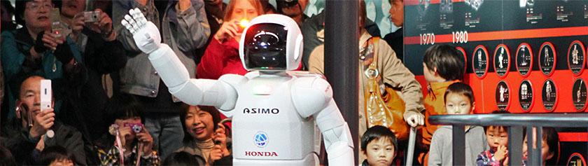 Robotteja sekä maailman parasta sushia