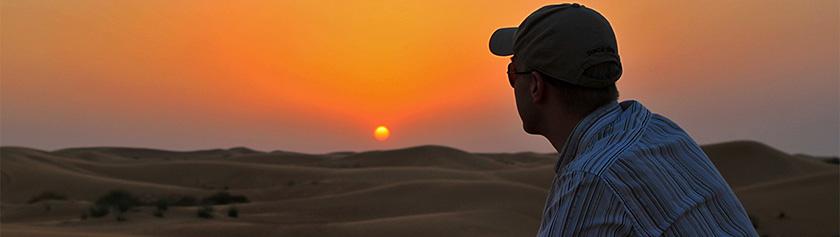 Laskettelua, off-roadia sekä vatsatanssia kuumalla aavikolla