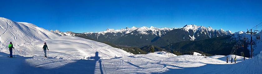 Mount Bakerin syvässä lumihangessa