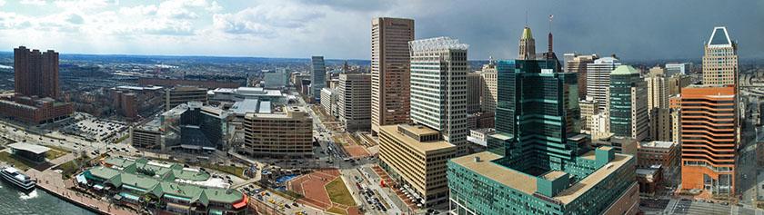 Hurjan maineen Baltimore