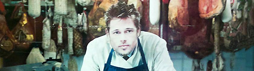 Brad Pittin lihatiski sekä borssikeittoa