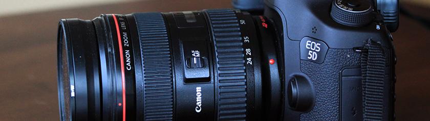 Kameralaitteisto: Canon EF 24-70mm f/2.8 L USM