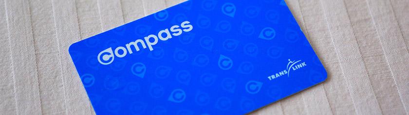 Uusi uljas Compass Card