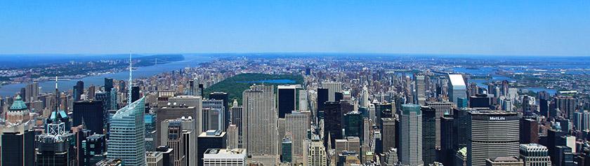 Empire State Buildingin huipulla