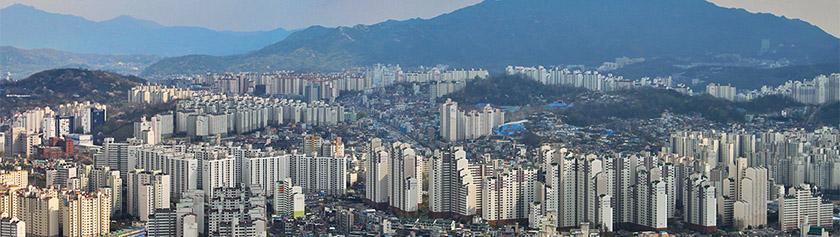 Ensipäivät jättikaupunki Soulissa