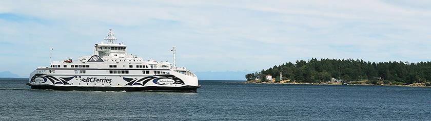Viikonloppu Galiano Islandilla