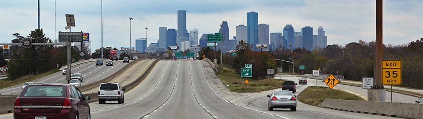 Kaikki moottoritiet johtavat Houstoniin