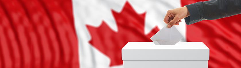 Ensi kertaa Kanadan vaaliuurnilla