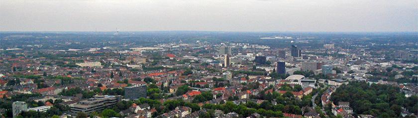 Dortmundin joukkoliikenteestä sekä retki Florianturmiin