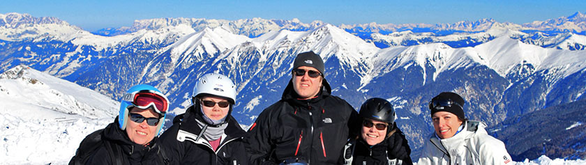 Laskettelureissu Alpeille
