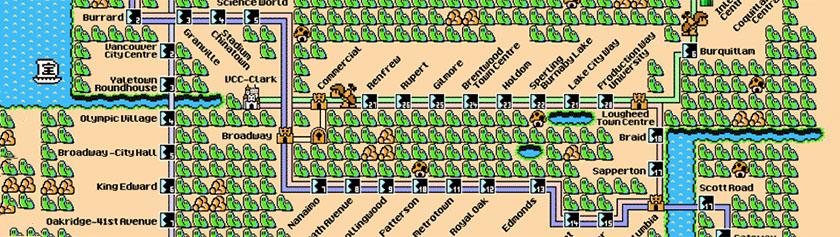 Sienivaltakunnan metrokartta