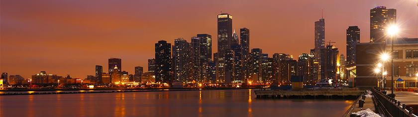 Jouluaatto Chicagossa