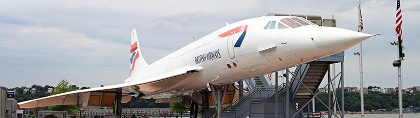 Elokuvamaisemia ja Concorden kyydissä