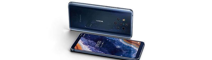 Kameralaitteisto: Nokia 9 PureView
