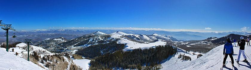 Vähäluminen hiihtoloma Utahissa