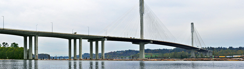 Port Mann Bridgen projekti valmis