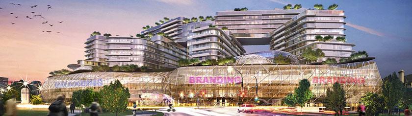 Vancouverin tuoreet megaprojektit