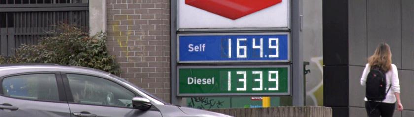 Ryöstöhinnoittelu bensapumpulla