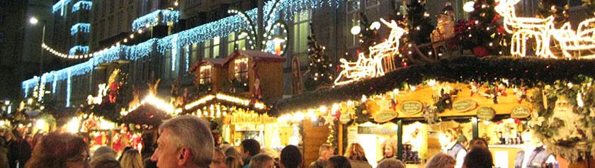 Joulumarkkinaretki Dresdeniin
