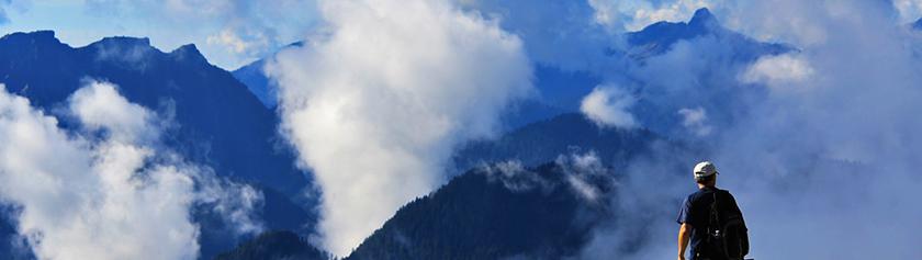 Pilvihattaraa Mount Seymourilla