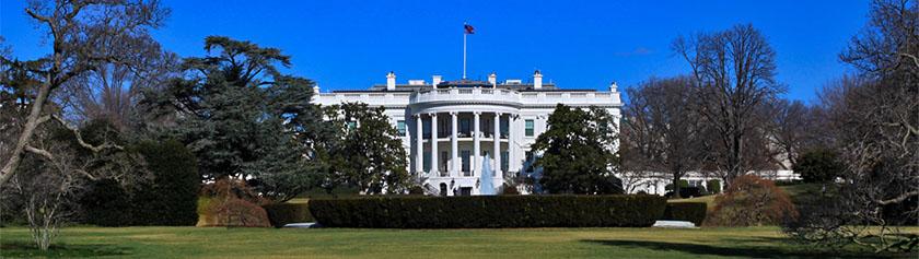 Kansallisdokumentteja sekä Valkoinen talo