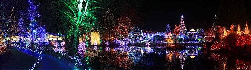 VanDusenin kaunis joulufestivaali