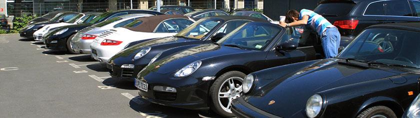 Porschen ratissa