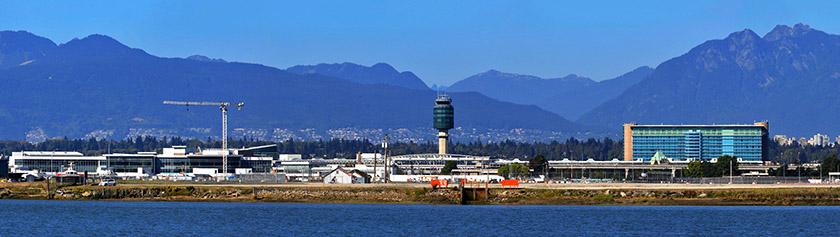 Vancouverin lentokenttä uusille miljoonaluvuille